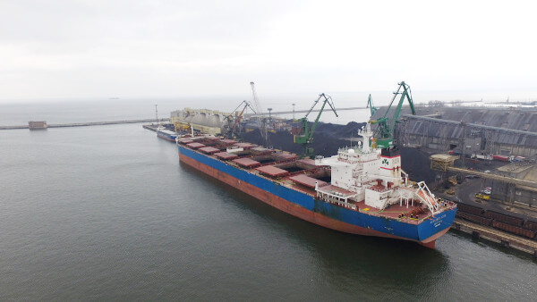 spedycja morska - ładunki masowe
